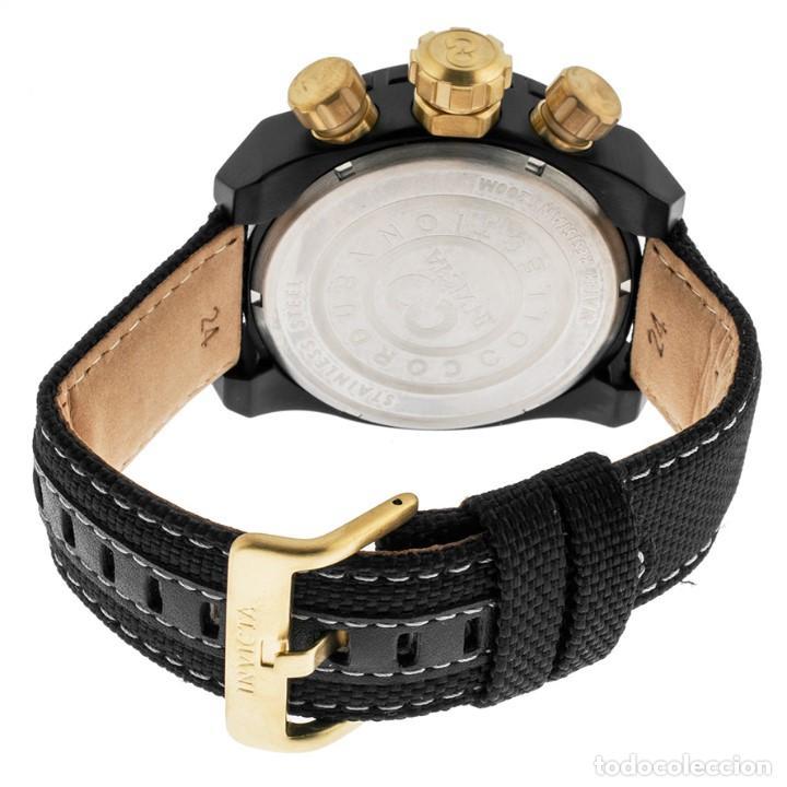 Relojes: Invicta Corduba Cronógrafo Dial Negro Correa de Nylon Negro - Foto 4 - 142063922