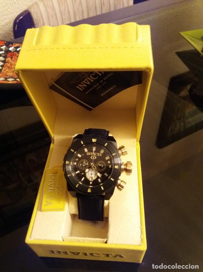 Relojes: Invicta Corduba Cronógrafo Dial Negro Correa de Nylon Negro - Foto 6 - 142063922