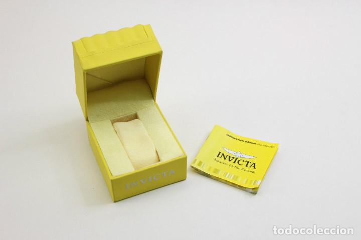 Relojes: Invicta Corduba Cronógrafo Dial Negro Correa de Nylon Negro - Foto 7 - 142063922