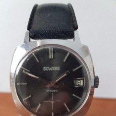 Relojes: RELOJ CABALLERO (VINTAGE) DUWARD DE CUERDA CALIBRE UT 6410 SUIZO, CALENDARIO A LAS TRES, SEGUNDERO 6. Lote 73672399