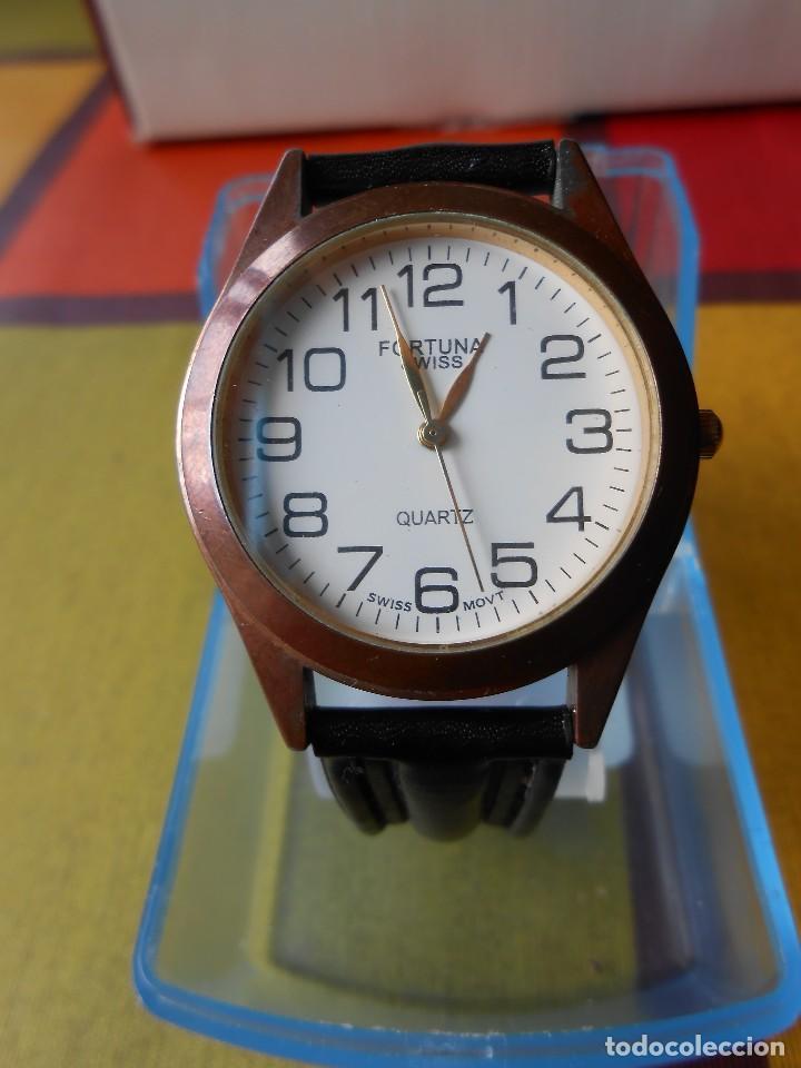 RELOJ DE CABALLERO FORTUNA (SWISS MOVT). (Relojes - Relojes Actuales - Otros)
