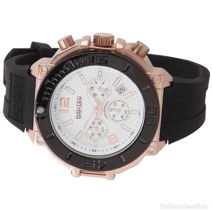 Relojes: Nautec No Limit Backlash Chronograph Reloj Aleman 50m/m - Foto 2 - 119943918