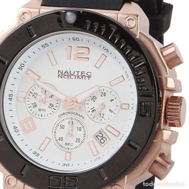 Relojes: Nautec No Limit Backlash Chronograph Reloj Aleman 50m/m - Foto 3 - 119943918
