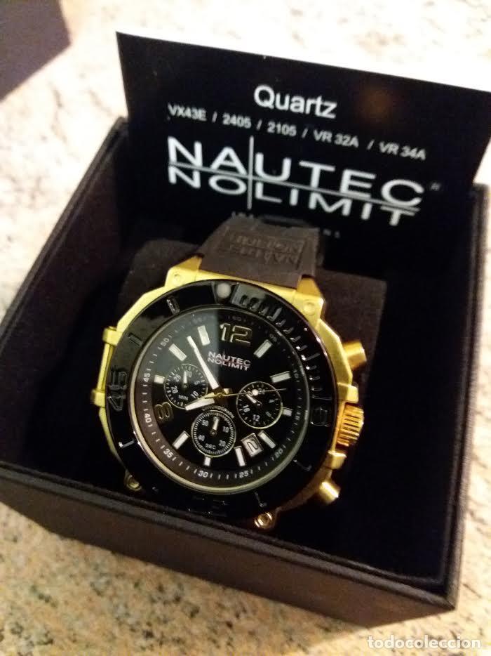 Relojes: Nautec No Limit Backlash Chronograph Reloj Aleman 50m/m - Foto 4 - 119943918