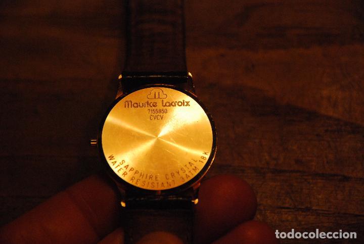 Relojes: MUY BONITO RELOJ MAURICE LACROIX VINTAGE ORO 18K - Foto 7 - 74983091