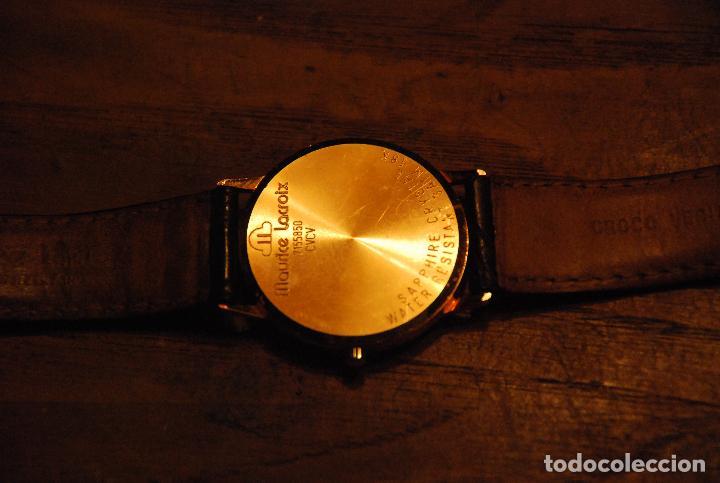 Relojes: MUY BONITO RELOJ MAURICE LACROIX VINTAGE ORO 18K - Foto 9 - 74983091