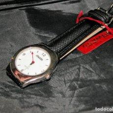 Relojes: RELOJ DE PULSERA MARCA DUWARD. CORREA DE PILE. ESF. BLANCA. NUEVO. NOS.. Lote 75914391