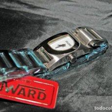 Relojes: RELOJ DE SEÑORA MARCA DUWARD. ARMIS ACERO. ESF. BLANCA. NUEVO. NOS.. Lote 75915075