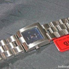 Relojes: RELOJ DE SEÑORA MARCA DUWARD. ACERO. ESF. AZUL. NUEVO. NOS.. Lote 75923291
