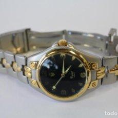 Relojes: RELOJ CRYSTAL QUARTZ - JAPAN - STAINLESS STEEL. Lote 75946363
