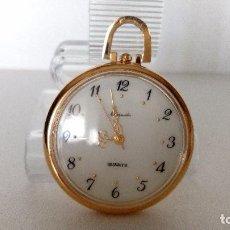 Relojes: RELOJ DE BOLSILLO QUARTZ NUMEROS ARABIGOS THERMIDOR NUEVO DE STOCK DE TIENDA. Lote 76213087