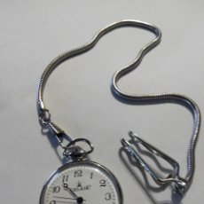 Relojes: RELOJ DE BOLSILLO CON CADENA LECLAUDE. Lote 76557239