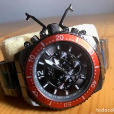 Relojes: INVICTA 48MM STEALTH GUNMETAL PRO DIVER STINGRAY ALA VD54 CHRONOGRAFO. Lote 76681947