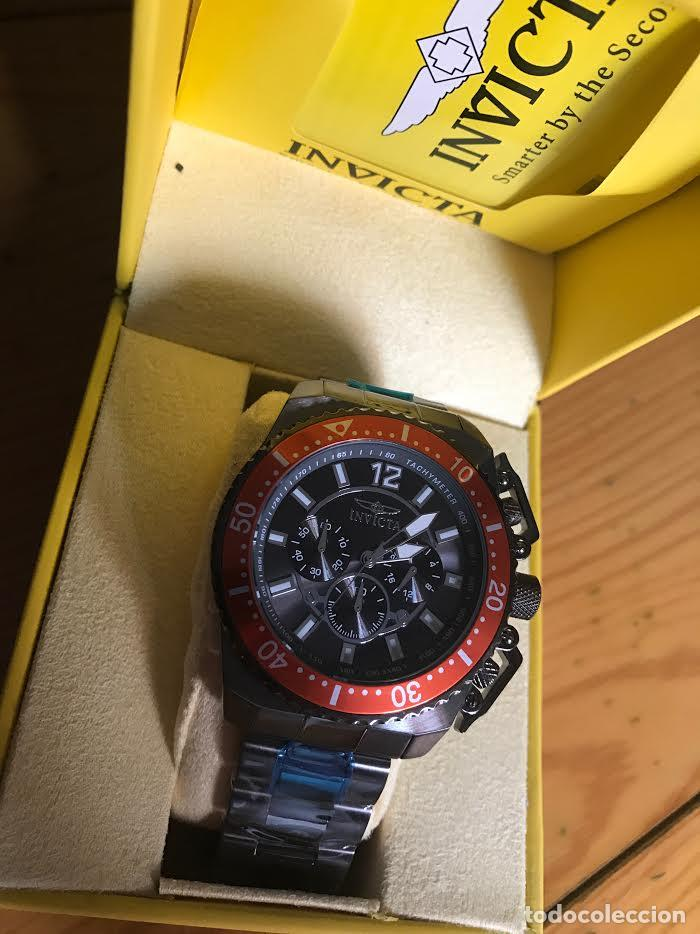 Relojes: Invicta 48mm Stealth Gunmetal Pro Diver Stingray ala VD54 Chronografo - Foto 2 - 76681947