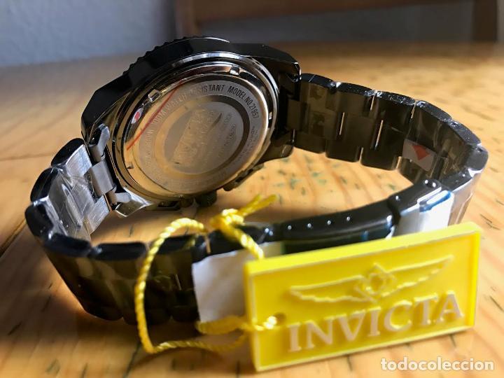 Relojes: Invicta 48mm Stealth Gunmetal Pro Diver Stingray ala VD54 Chronografo - Foto 4 - 76681947