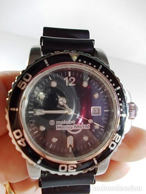 reloj caballero de la marca metabo heavy metal relojes relojes actuales otros