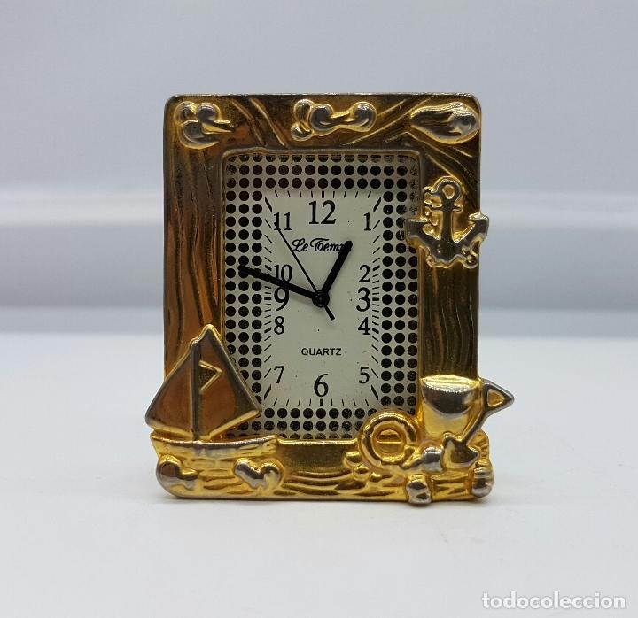 reloj vintage en miniatura con forma de marco p - Comprar Relojes ...