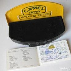 Relojes: CAJA DE CHAPA DE RELOJ CAMEL CON LA GARANTIA - AÑOS 90. Lote 78670293