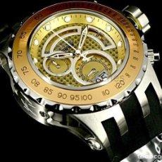 Relojes: INVICTA SUBAQUA WISS MADE CRONO 500M ACERO INOXIDABLE CORREA DE POLIURETANO $2395. Lote 142063997