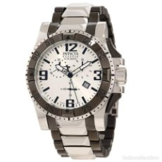 Relojes: INVICTA 10536 EXCURSION RESERVA DOS TONO RELOJ CRONÓGRAFO $1695. Lote 80247161