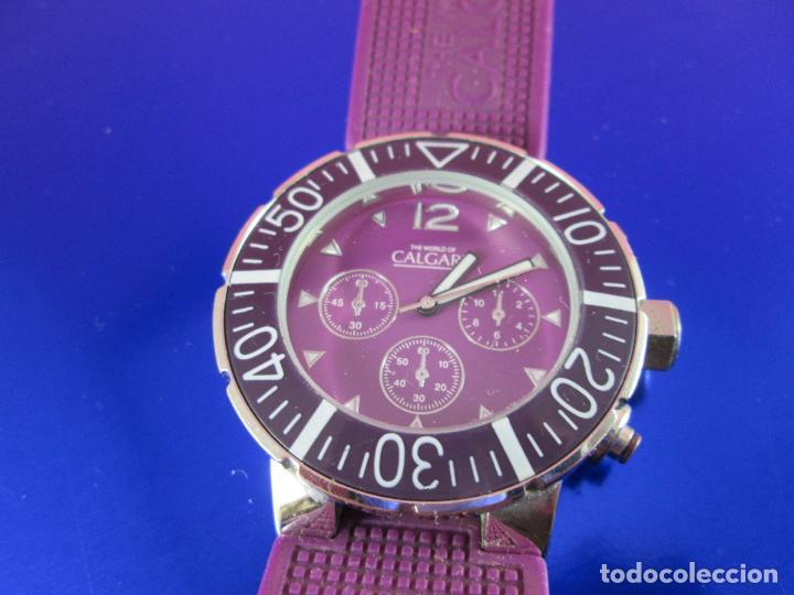 Relojes: reloj-calgary-unisex-funcionando-violeta-ver fotos-buen estado - Foto 2 - 80316409