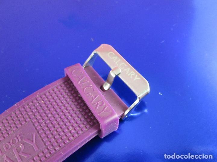 Relojes: reloj-calgary-unisex-funcionando-violeta-ver fotos-buen estado - Foto 4 - 80316409