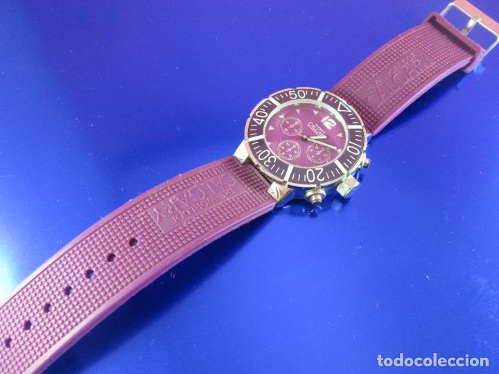 Relojes: reloj-calgary-unisex-funcionando-violeta-ver fotos-buen estado - Foto 5 - 80316409