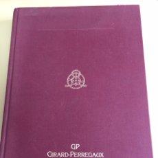 Relojes: RELOJES GIRARD-PERREGAUX.LISTA PRECIOS 1999. Lote 80457862