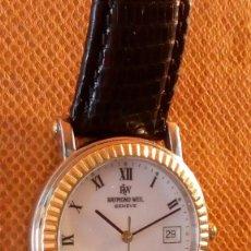 Relojes: RELOJ SUIZO RAYMOND WEIL, DE HOMBRE. ORO. TIENE UNA FECHA GRABADA: 30 SEPT. 96. Lote 80761514