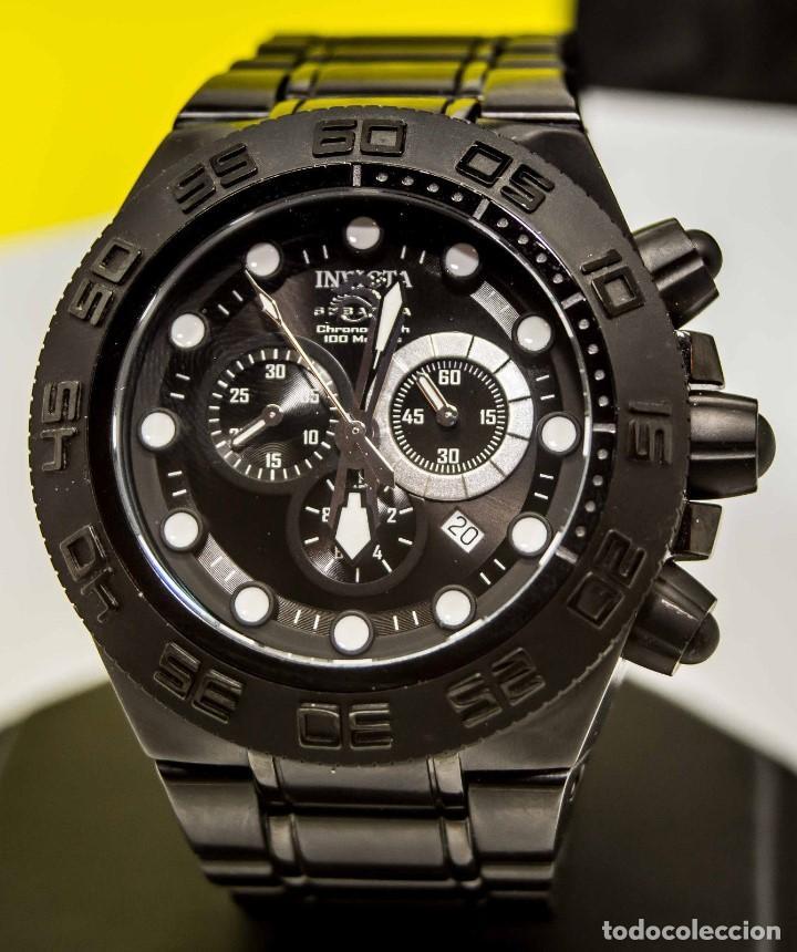 Relojes: Invicta Subaqua Sport Reloj De Acero Dial Negro Cronógrafo Suizo $1995 - Foto 3 - 81132716