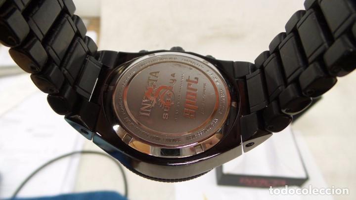 Relojes: Invicta Subaqua Sport Reloj De Acero Dial Negro Cronógrafo Suizo $1995 - Foto 6 - 81132716