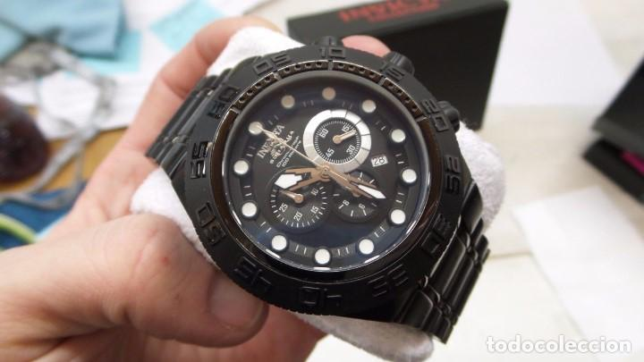 Relojes: Invicta Subaqua Sport Reloj De Acero Dial Negro Cronógrafo Suizo $1995 - Foto 9 - 81132716