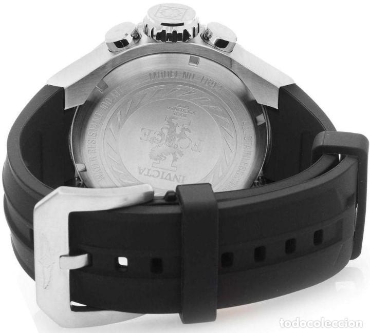 Relojes: Invicta Force Chrono correa de silicona negro acento de Tono Rosa W/R 100 metros Box estanco - Foto 3 - 81200444