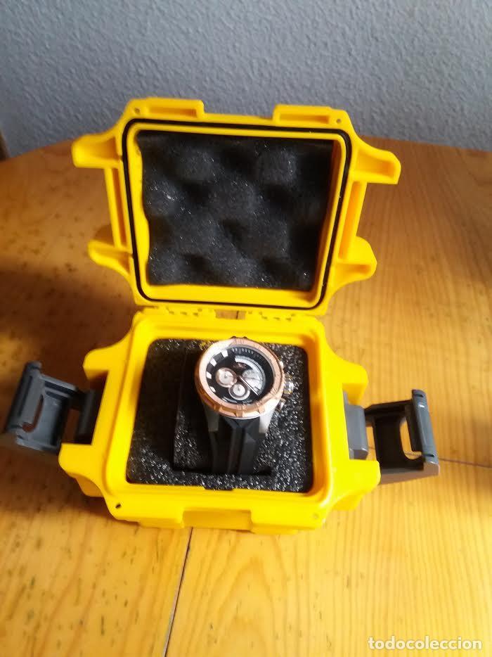 Relojes: Invicta Force Chrono correa de silicona negro acento de Tono Rosa W/R 100 metros Box estanco - Foto 6 - 81200444