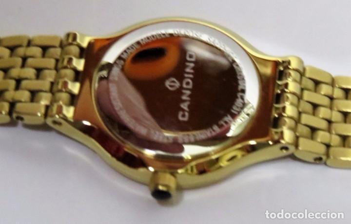 Relojes: CANDINO SUIZO CRISTAL DE ZAFIRO de DAMA - Foto 5 - 81875576