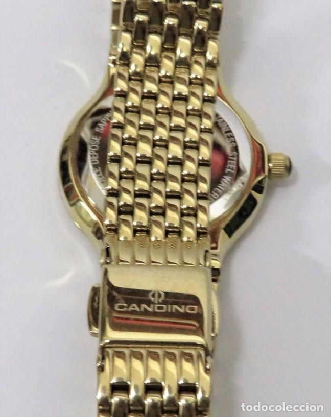 Relojes: CANDINO SUIZO CRISTAL DE ZAFIRO de DAMA - Foto 6 - 81875576