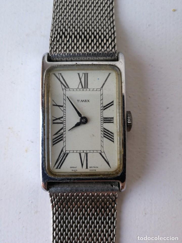 ANTIGUO RELOJ PULSERA TIMEX STAINLESS STEEL VINTAGE UNISEX (Relojes - Relojes Actuales - Otros)