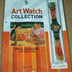 Relojes: RELOJ DE COLECCIÓN ART WATCH - LAS TAHITIANAS - NUEVO EN SU BLISTER -SIN USAR-PRECIOSO-LEER ENVIOS. Lote 82744860