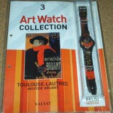 Relojes: RELOJ DE COLECCIÓN ART WATCH-ARISTIDE BRUANT - NUEVO EN SU BLISTER - SIN USAR-PRECIOSO-LEER. Lote 82745048