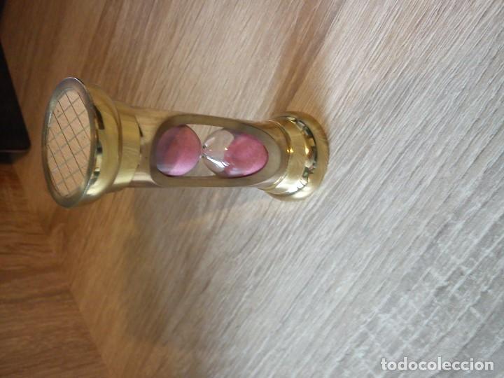 Relojes: ANTIGUIO RELOGE ARENA HECHO EN METAL DORADO ANOS 50,60 - Foto 6 - 83062732
