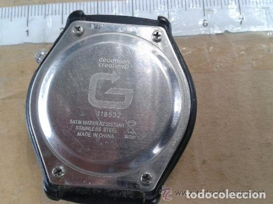 Relojes: reloj plastico geonaute 5 atm sin correa y pilas gastadas funcionaba antes --RefMeNoCa3 - Foto 2 - 83611520