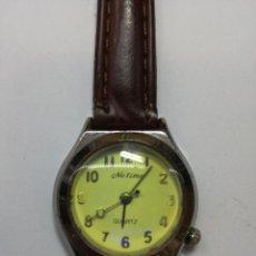 Relojes: RELOJ NU TIME QUARTZ - FUNCIONA. Lote 83945284