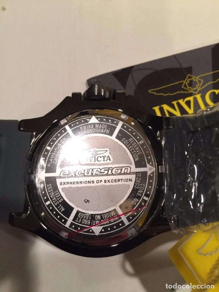 Relojes: INVICTA excursión Reloj con Cronógrafo Dial púrpura de silicona gris $1995 - Foto 6 - 84579816