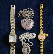 Relojes: LOTE DE 5 RELOJES QUARTZ. Lote 84737424