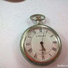 Relojes: RELOJ DE BOLSILLO DE COLECCIÓN CASSALI QUARTZ. NECESITA PILA-N. Lote 84835820
