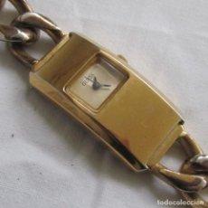 Relojes: RELOJ DE PULSERA GUESS. FUNCIONANDO. CORREA METÁLICA ORIGINAL. Lote 84860336