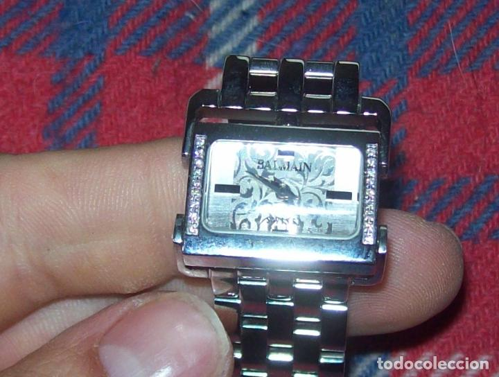 Relojes: RELOJ DE PULSERA BALMAIN SWISS WATCHES. ESFERA DE ACERO CON BRILLANTES. UNA JOYA!!!!!!!! - Foto 3 - 85001948