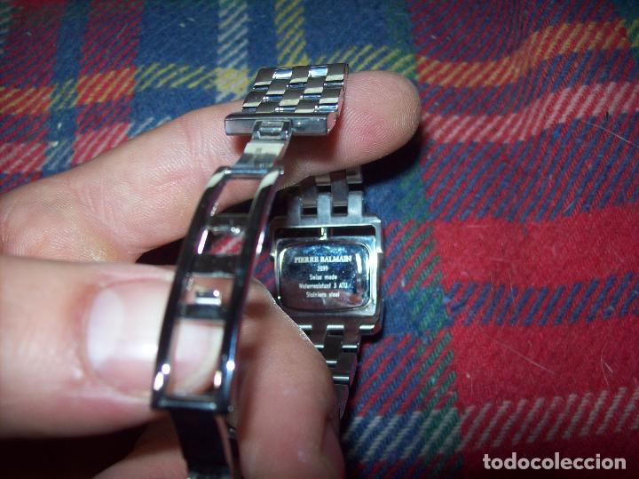Relojes: RELOJ DE PULSERA BALMAIN SWISS WATCHES. ESFERA DE ACERO CON BRILLANTES. UNA JOYA!!!!!!!! - Foto 6 - 85001948