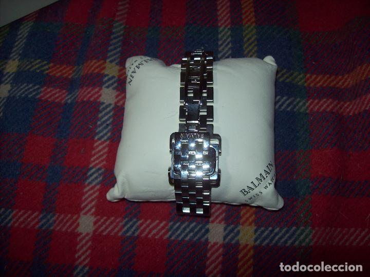 Relojes: RELOJ DE PULSERA BALMAIN SWISS WATCHES. ESFERA DE ACERO CON BRILLANTES. UNA JOYA!!!!!!!! - Foto 8 - 85001948