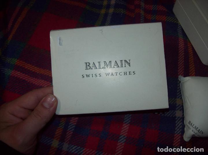 Relojes: RELOJ DE PULSERA BALMAIN SWISS WATCHES. ESFERA DE ACERO CON BRILLANTES. UNA JOYA!!!!!!!! - Foto 13 - 85001948